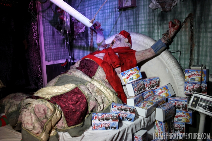 NOT SO MERRY CHRISTMAS – SINISTER POINTE via Theme Park Adventure