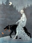 Queen of the Night by illustrator Marjorie Miller, 1931