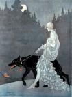 Queen of the Night by illustrator Marjorie Miller, 1931
