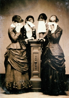 Sleeping Beauty II Memorial Photography, by Stanley Burns of the Burns Archive, 4 Women Weeping