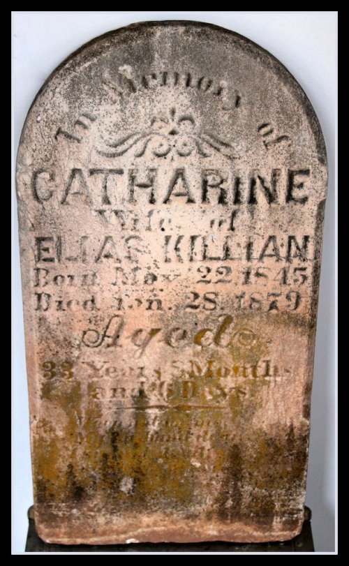 Spectacular Victorian Tombstone 1879 sold by FiveHands on Etsy