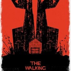 The Walking Dead Graphic Art Print by David of Cooee Design