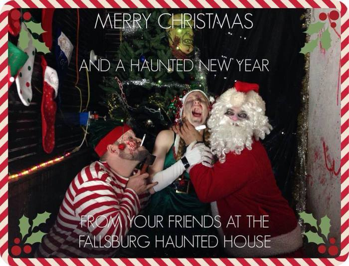 YULETIDE TERROR – FALLSBURG HAUNTED HOUSE