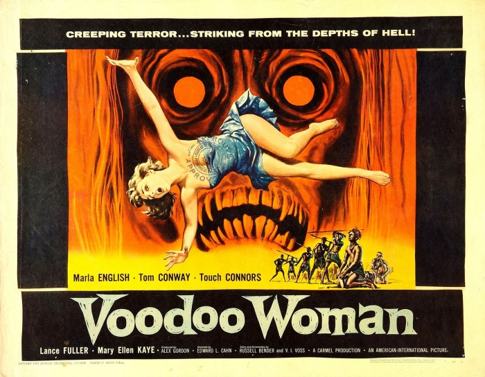 1957 Voodoo Woman Horror Poster