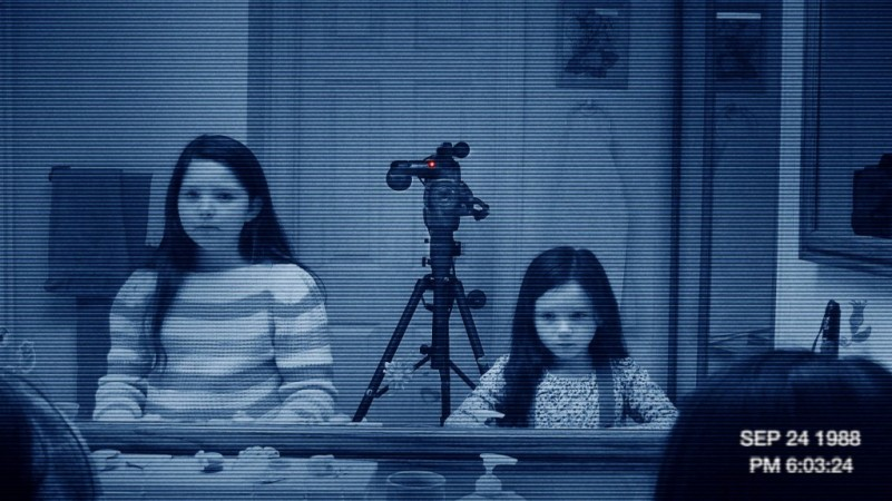 Movie Still from Paranormal Activity Creepy Kids