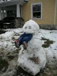 Child-eating Snowman Horror