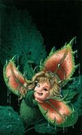 Garden of Evil original art by Jill Bauman