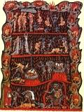 Hortus Deliciarum image of Hell - Herrad von Landsberg
