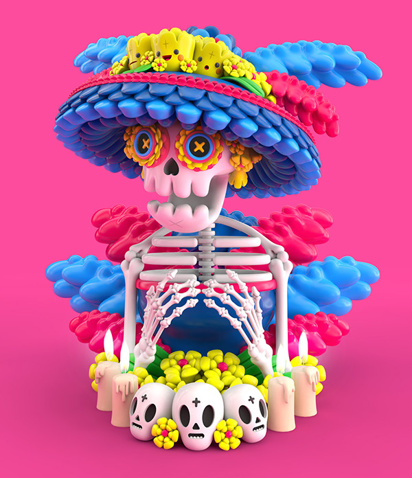 La Catrina by El Grand Chamaco 2014