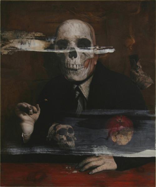 Masaki Yada, Lost Image in Memories Op.1, 2009, Acrylic and Oil on Board