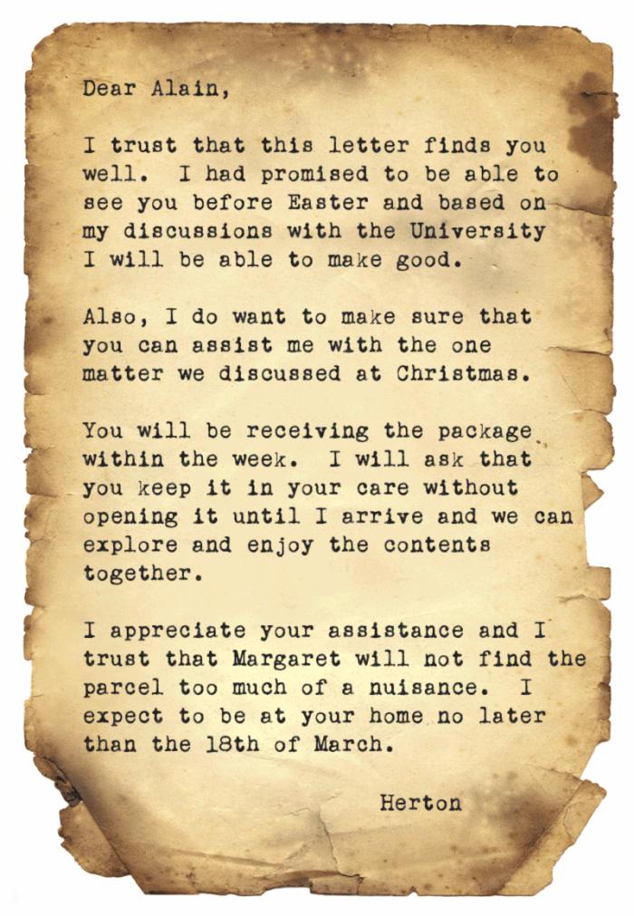 Herton-Letter