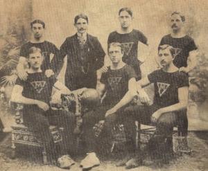 Old Miskatonic Basketball 1927