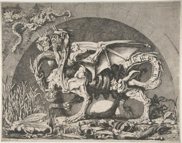 Louis Jean Desprez, The Chimera, 1777–84
