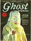 Cover of Ghost Stories, 1926 via Monsterous Girl Tumblr