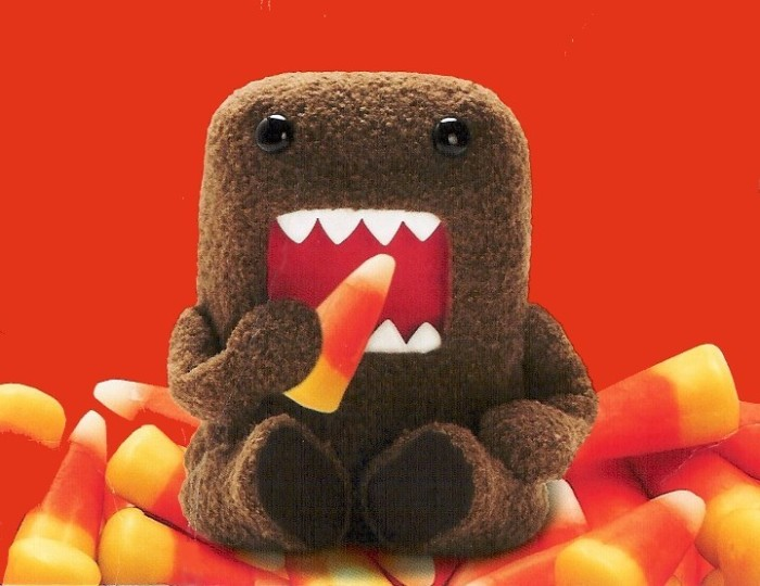 Domo Candy Corn Image by Matt Blank used under Creative Commons