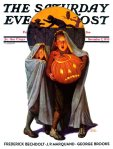 Saturday Evening Post Cover November 2, 1935evahalloweenSaturday Evening Post Cover November 2, 1935