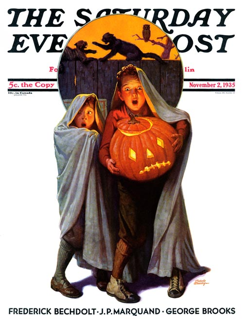 Saturday Evening Post Cover November 2, 1935