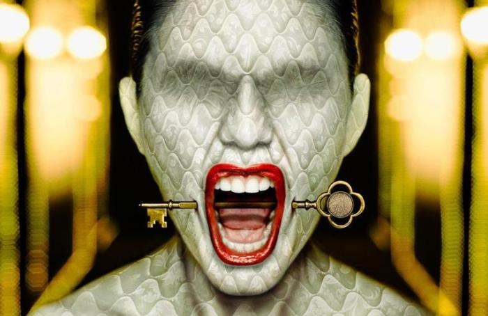 American Horror Story Hotel Promo Art
