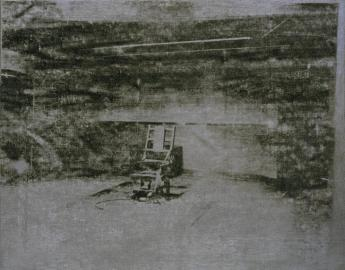 Electric Chair 1964 Andy Warhol 1928-1987 Presented by Janet Wolfson de Botton 1996 http://www.tate.org.uk/art/work/T07145