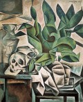 Still Life with Skull - Bohumil Kubista (1912)