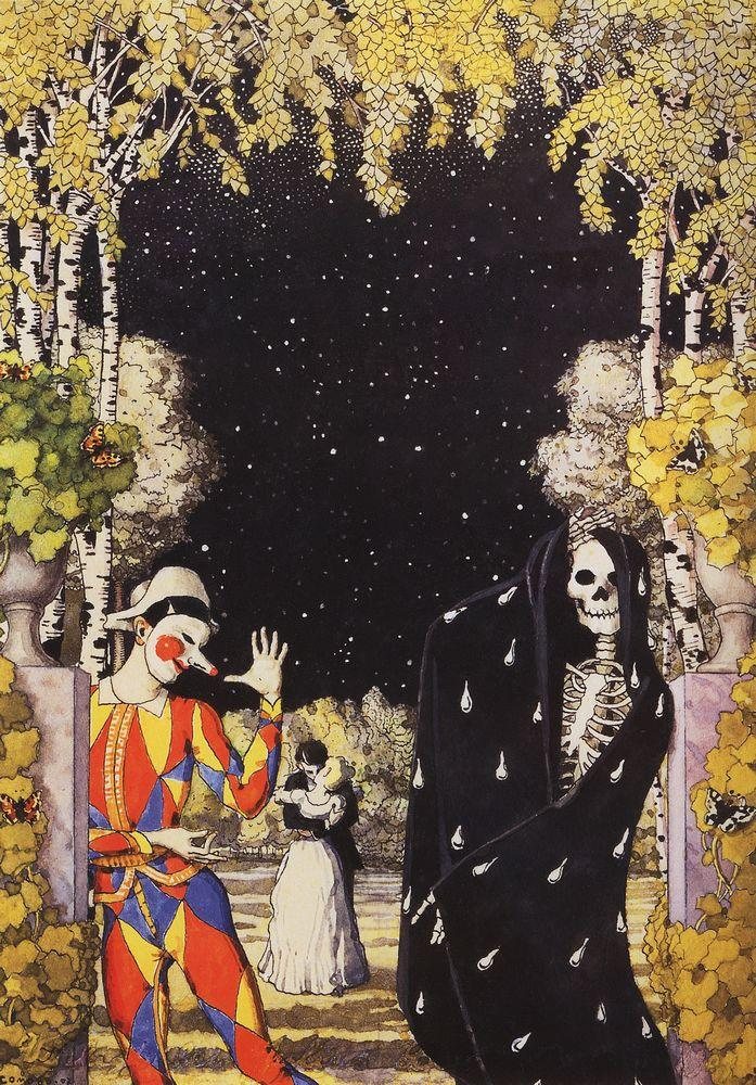 harlequin-and-death