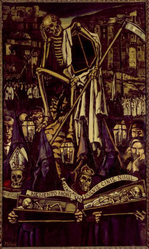 José Gutiérrez Solana, La Procesión de la Muerte (The Procession of Death) 1930