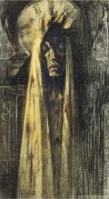Jean Delville, La Mort (Death), 1915