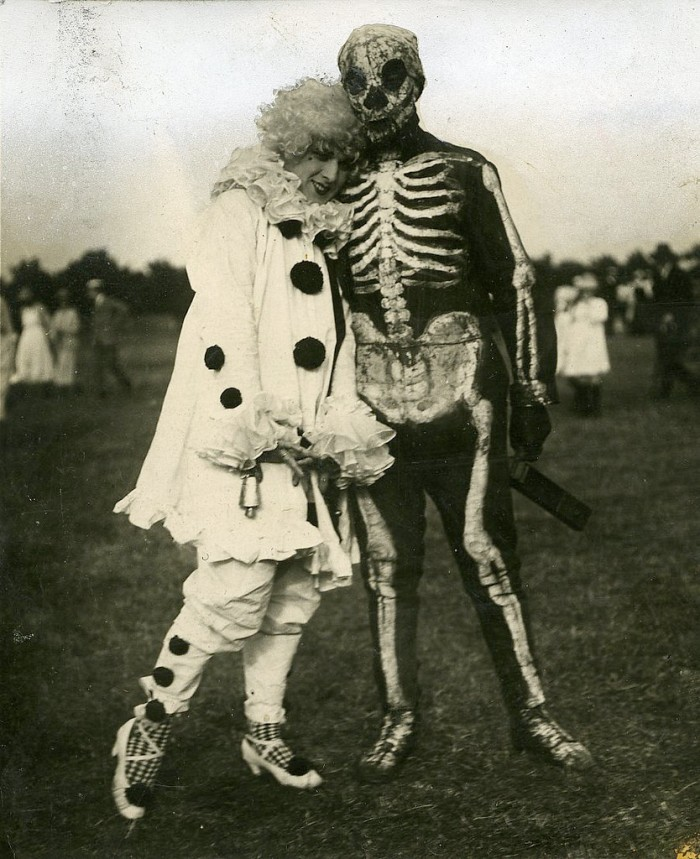 Costumed football match in the July 1920 issue of Polytechnic Magazine, from the University of Westminister Archives.jpg