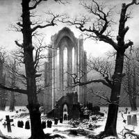 Silent Sundays: Cloister Cemetery in the Snow (1819)