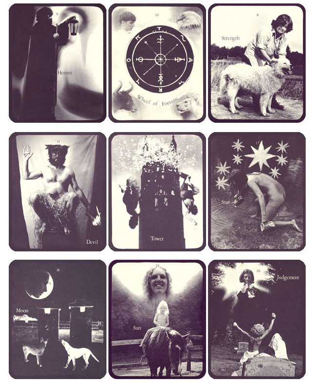 1975, Bea Nettles' Mountain Dream Tarot