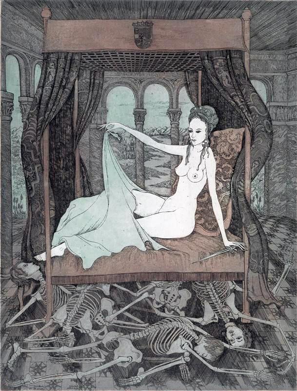 Lukretia last bitten (Lucretia can ask), 1974 Peter Croy.jpg