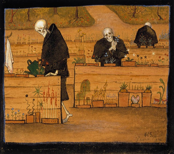Hugo Simberg, The Garden of Death, 1896