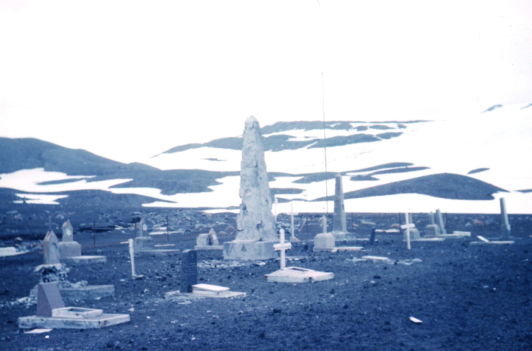 Whalers Cemetery on Deception Islandevahalloween