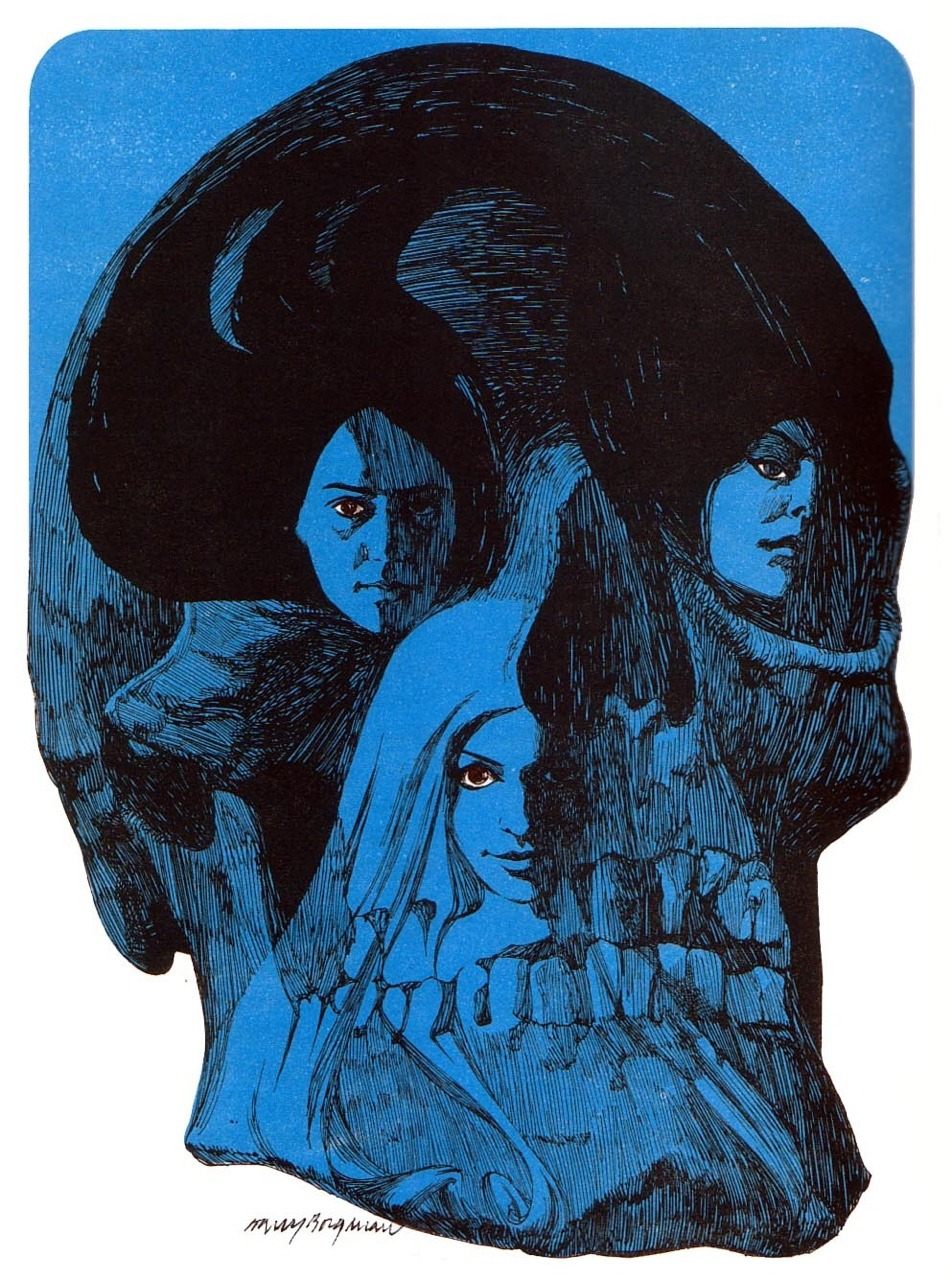 Illustration by Harry Borgman from Great Tales of Horror and Suspense (1974).evahalloween