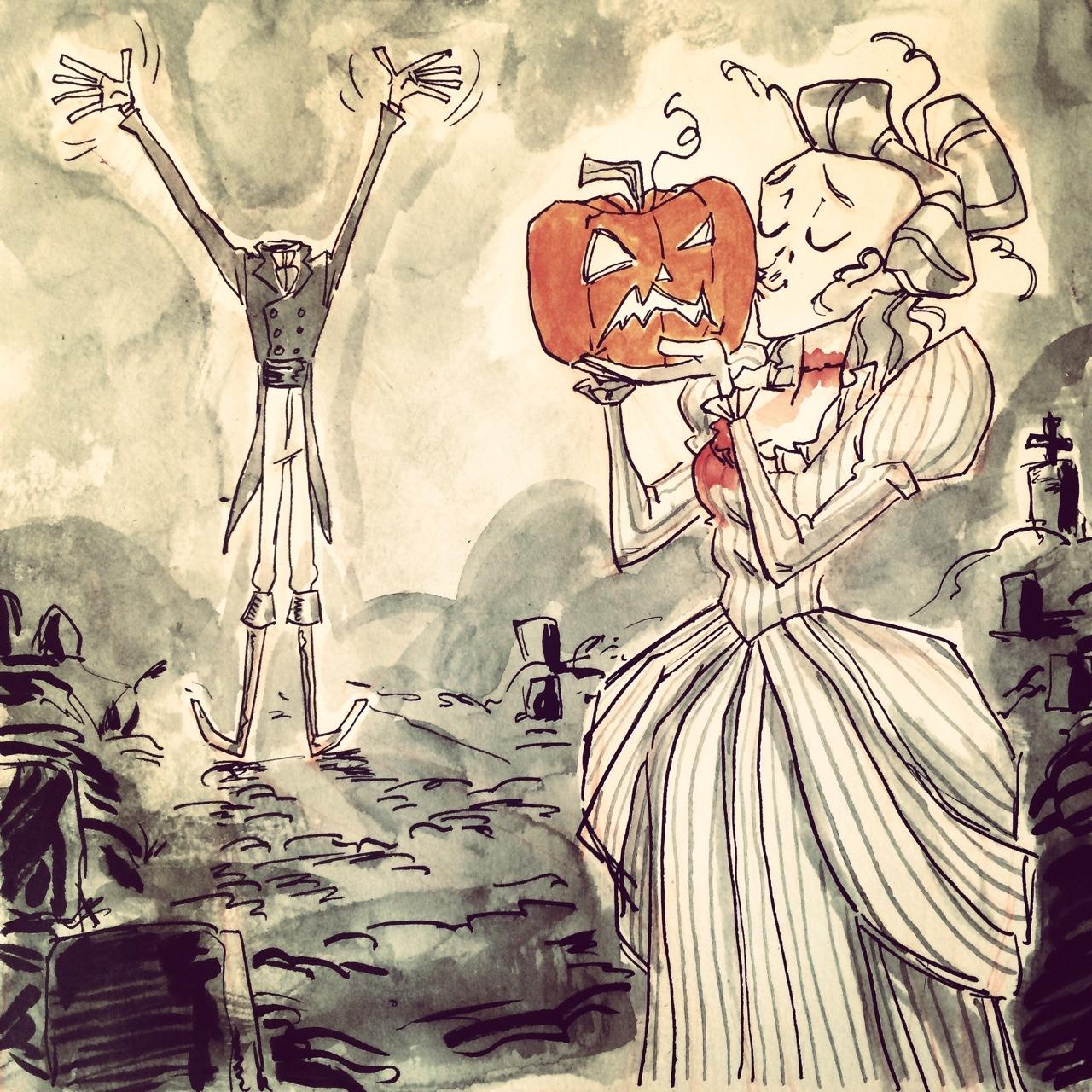 Bethany the Zombie by Bree Paulsen 2014evahalloween