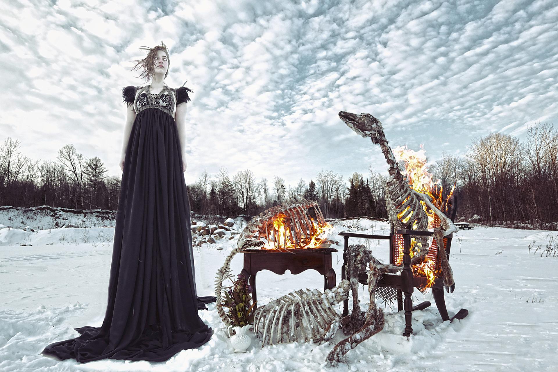 Karen Jerzyk Bones 2016evahalloween